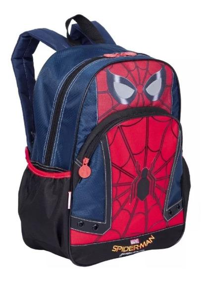 Mochila Infantil Homem Aranha Sestini Spider Frete Grátis