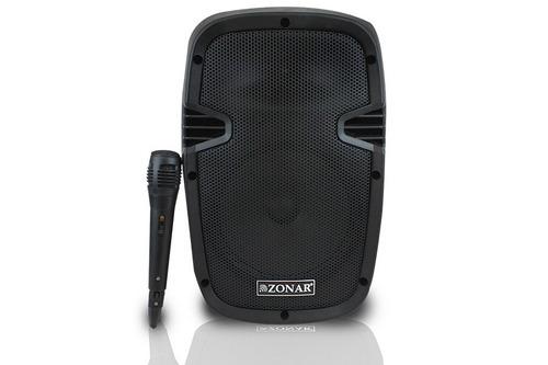 Bafle Bocina 8 Amplificado Recargable Bluetooth Y Microfono