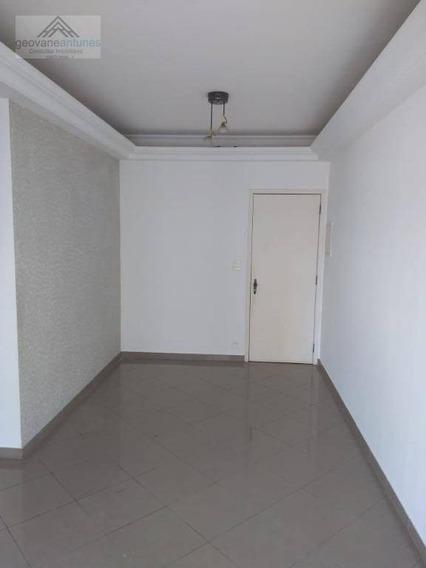 Apartamento Com 2 Dormitórios Para Alugar, 64 M² Por R$ 1.100,00/mês - Parque Campolim - Sorocaba/sp - Ap0331