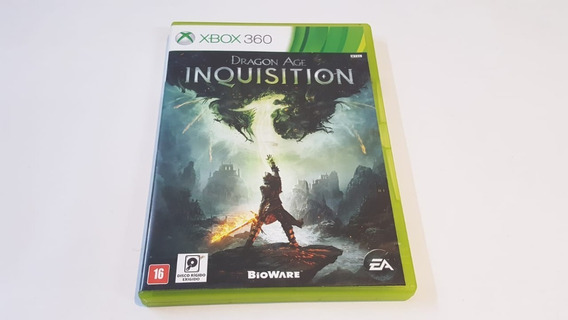Jogo Dragon Age Inquisition -xbox 360 - Original - Física