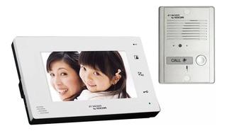 Syscom Kocom Kcv-a374k Kit Tv Portero Manos L. 2 Monitores