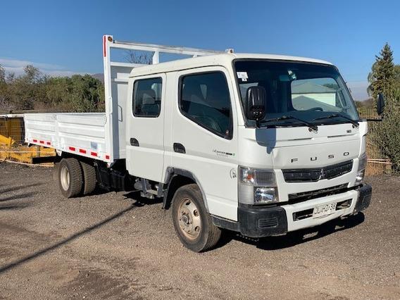 Mitsubishi Canter Fuso 7.5. 2017. Camión 3/4 Doble Cabina.
