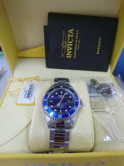 Reloj Invicta Tipo Submariner Azul