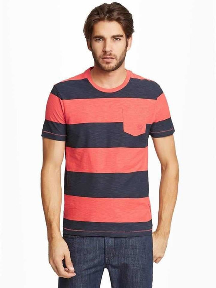 Remera Hombre Guess Importada Talle Large