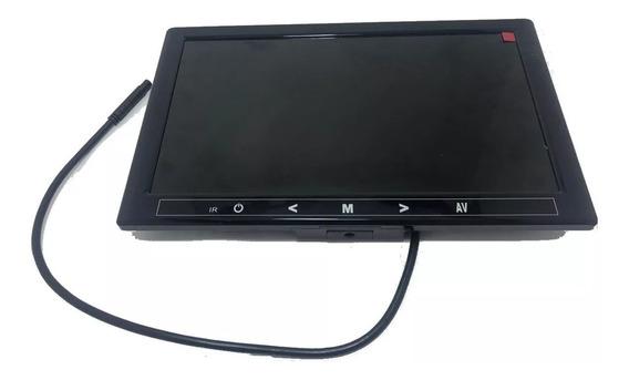 Monitor 10 Polegadas - 2 Entrada Rca Câmera Analógica E Ahd
