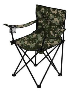Cadeira Camping Pesca Praia Dobrável Porta Copo C/ Bolsa
