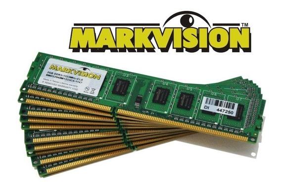 Markvision - Memoria Ram 2gb Ddr3 1333mhz Original N. Fiscal