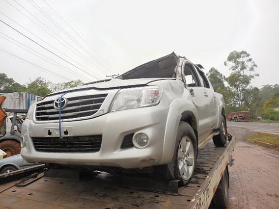 Sucata Toyota Hilux 3.0 4x4 Srv 2012