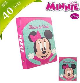 Album De Fotos Infantil Minnie Para 40 Fotos 10x15 *-*