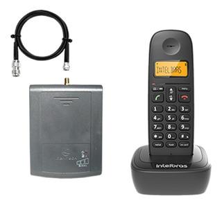 Telefone Celular Fixo Rural Sem Fio C/ Saída Antena Externa