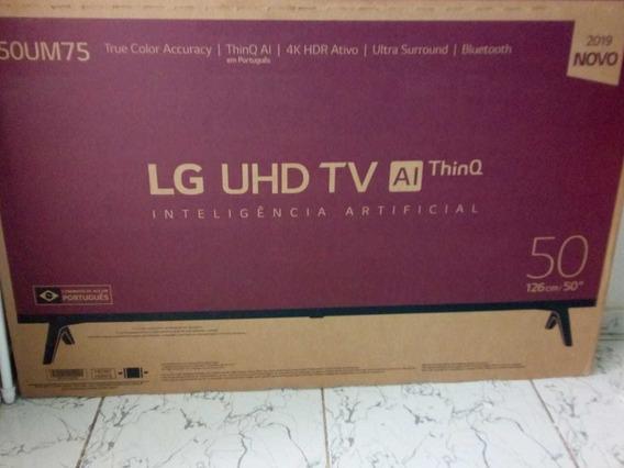 Televisão Lg 50 Led (bluetooth, 4k Hdr Ativo, Ultra Surroun