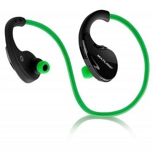 Fone De Ouvido Multilaser Ph184 Bluetooth Verde