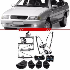 Kit Vidro Elétrico Sensorizado Volkswagen Santana