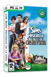 Los Sims Historias De Vida Juego Pc Original Fisico Dvd Box