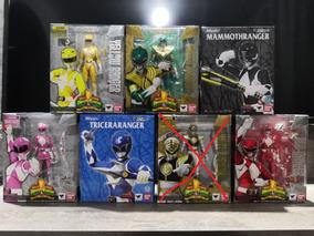 Coleção Completa Power Rangers Sh Figuarts Pack Com 6 Figura
