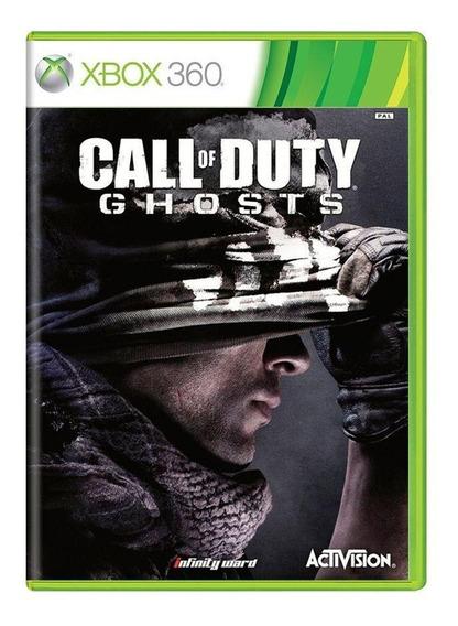 Call Of Duty Ghosts Xbox 360 Mídia Física Pronta Entrega