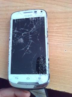 Telefono Huawei Y340 Con Detalle