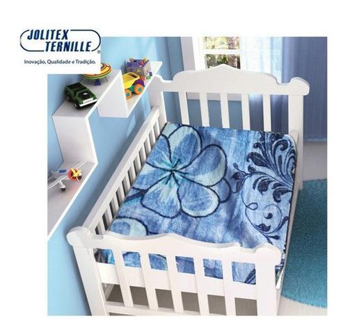 Imagem 1 de 1 de Cobertor Bebe Infantil Jolitex Touch Raschel Fr Não Alérgico