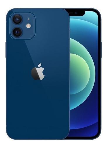 Celular Smartphone Apple iPhone 12 256gb Azul - Dual Chip