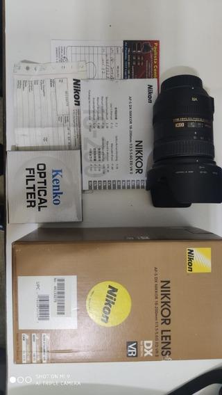 Lente Nikon Af-s Dx 18-200 F/3.5-5.6g Ed Vr Ii