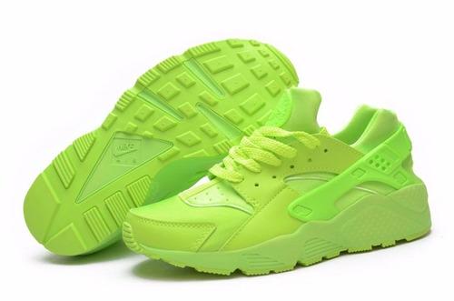 zapatillas huarache verdes