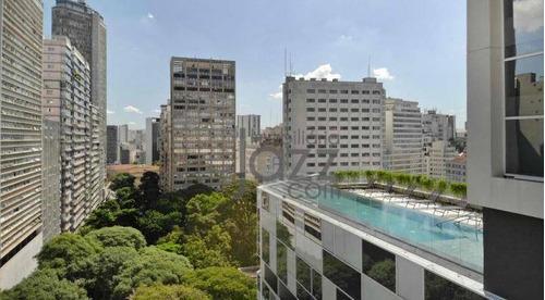 Apartamento Com 1 Dormitório À Venda, 20 M² Por R$ 488.680,00 - Consolação - São Paulo/sp - Ap5008