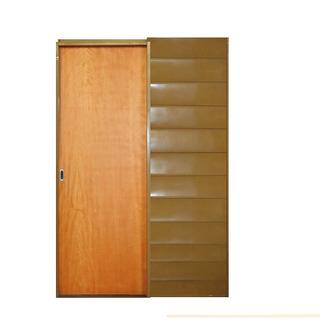 Valentinuz Verde Cedro Puerta Corrediza De Embutir 80x10 704