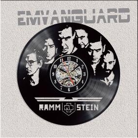 Reloj Rammstein En Lp Vinilo Lleva El 2do. Al 20%off