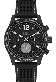 Relógio Masculino Guess Analógico 92644gpgspu2 Aço Negro