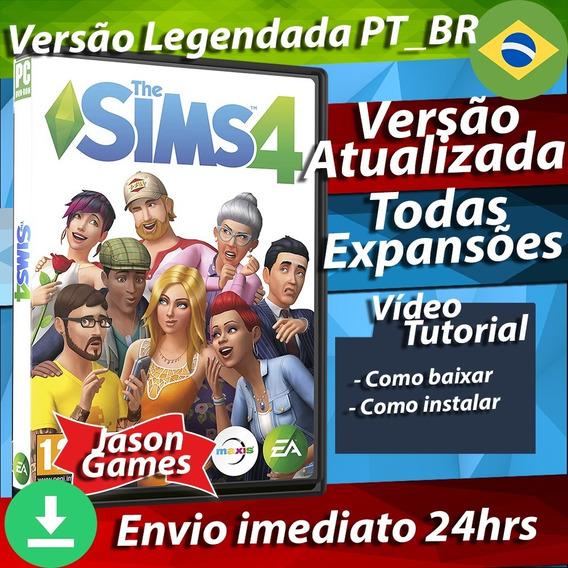 The Sims 4 Completo Todas Expansões Pt-br Pc Atualizado