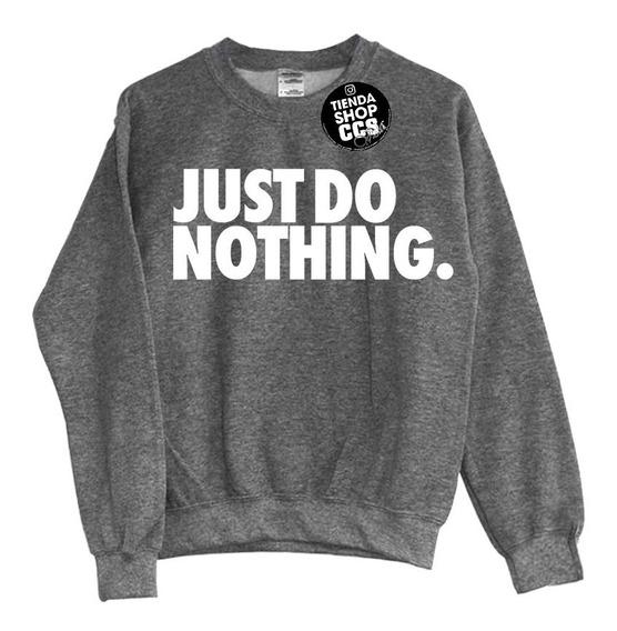 Sweater Nike Suéter Just Do Nothing Sin Capucha Algodón Dama