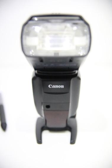 Flash Canon 600ex 1906000131 Perfeitíssimo Estado!
