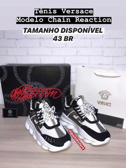 Tênis Versace Chain Reaction 43br