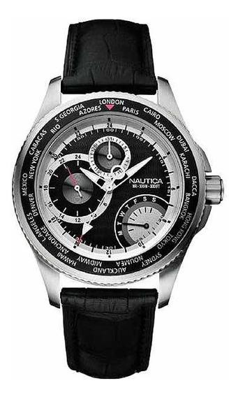 Relógio Náutica - A15503g Edição Especial (fuso Horário)