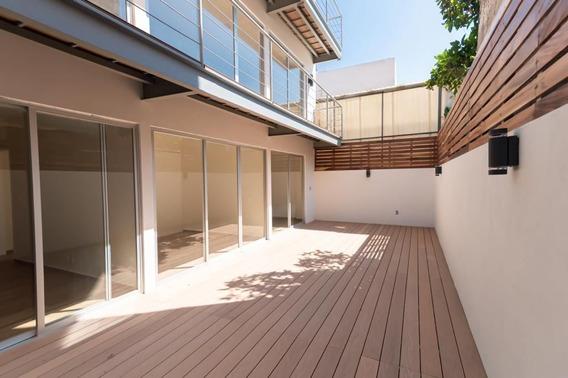Garden House Interior De 3 Recámaras En La Narvarte Poniente