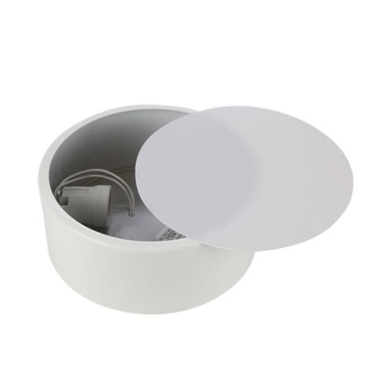 Paflon Redondo 60w Bivolt Clean 20cm Branco