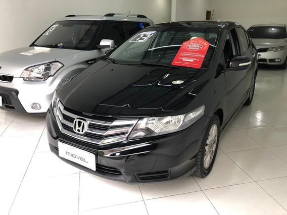 Honda City Ex 1.5 Automático Couro Preto 2013