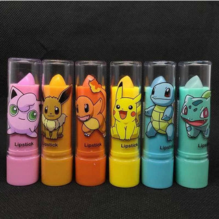 Pack De 3 Labiales Mágicos Pokemon Kawaii