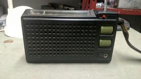 Lindo Radio Philips Antido Botão Verde Leia Descrição