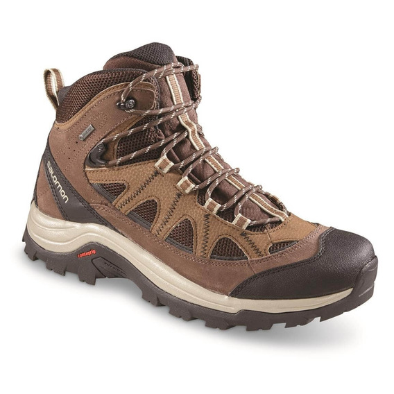 Bota Salomon Authentic Ltr Gtx Marrom Masculina