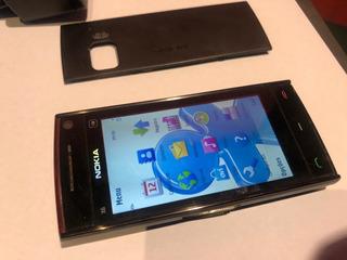Nokia X6 00 1 16gb Verção Antiga Coleçionador 2010