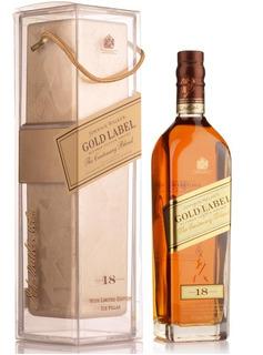 Whisky Johnny Walker Gold Label 18 Centenary Blend +frapera