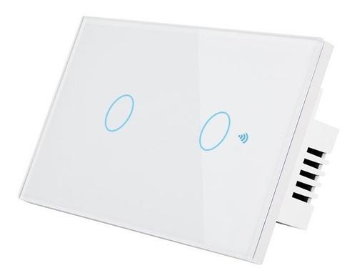 Switch Tactil Interruptor Inteligente Alexa (2 Botones)