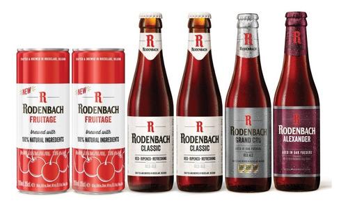 6 Pack De Cervezas Belgas Rodenbach.