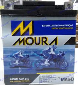 Bateria Moto 6ah 6a 12v 6 Amperes Cb300 Cb300r Cb 300r 0501