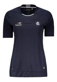 Camisa Remo Home F Printstation Topper 4138889 Azul Marinho