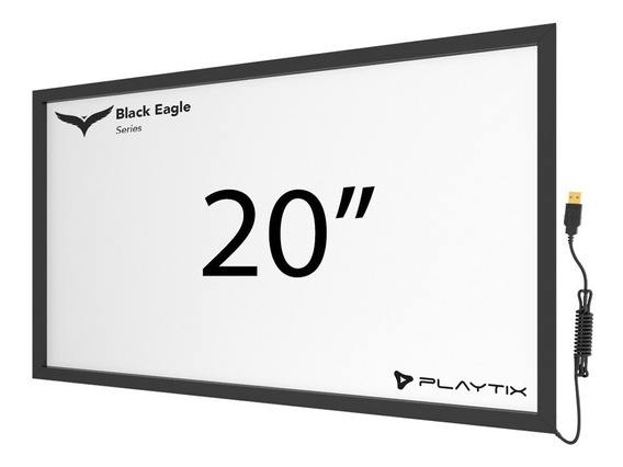 Moldura Touch Screen 20 Frame Multitouch Infra Red 2 Toques