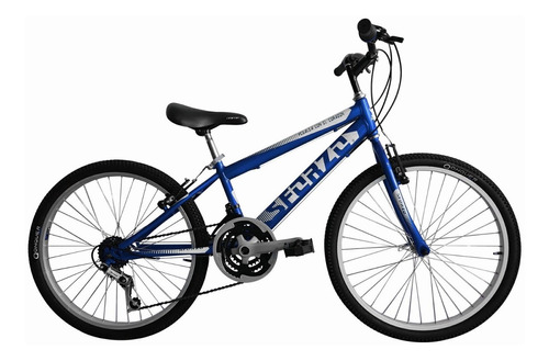 Bicicleta Niño Rin 24 En Aluminio 18 Cambios