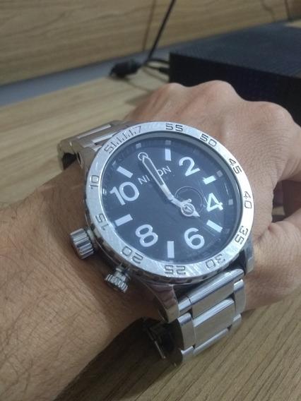 Relógio Nixon 51-30 Grande Tide Preto Original 300m Água