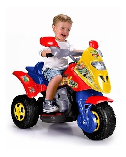 Trimoto Montable Para Niños Disney Toy Story Moto Feber 6 V.